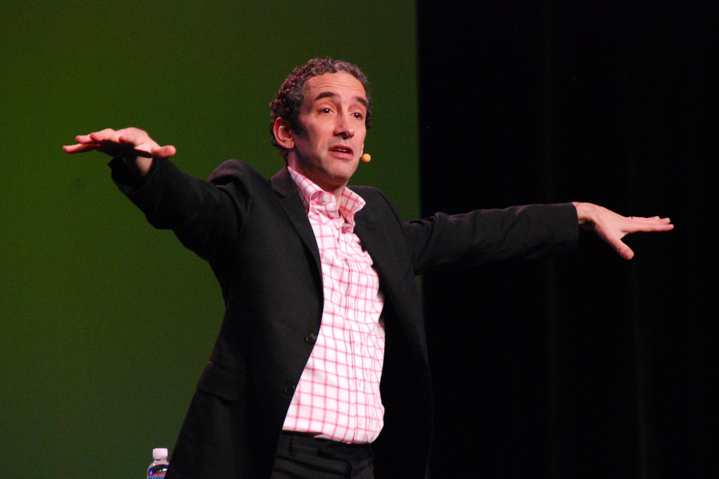 Douglas Rushkoff's vision for a new, better world