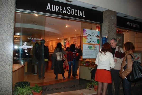 AureaSocial's entrance