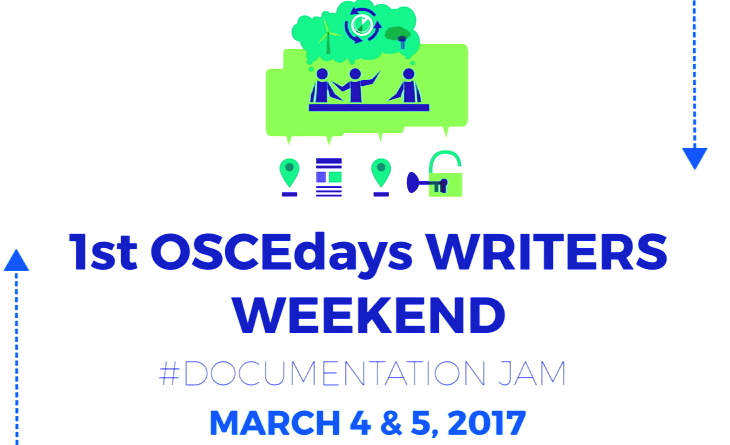 OSCEdays' First Writers Weekend – Open Call For Participants