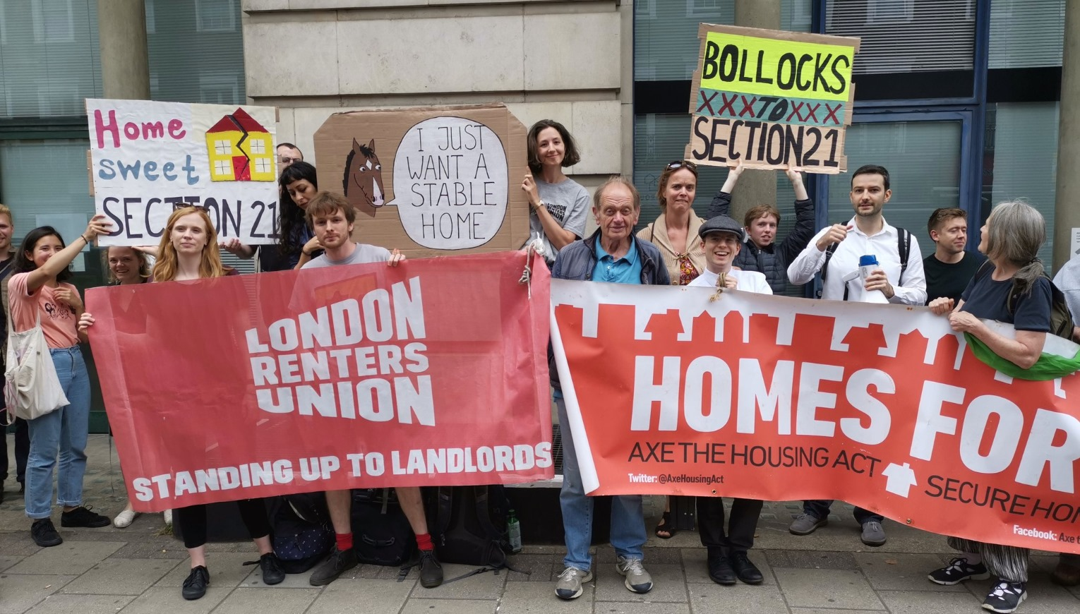 Organising for the right to housing in London