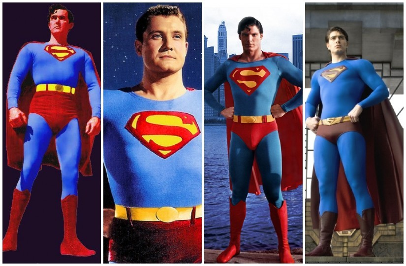 superman-through-the-ages